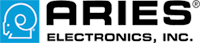 logo for ARIES electronics